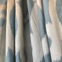 POWDER BLUE IKAT DESIGN CLOSEUP